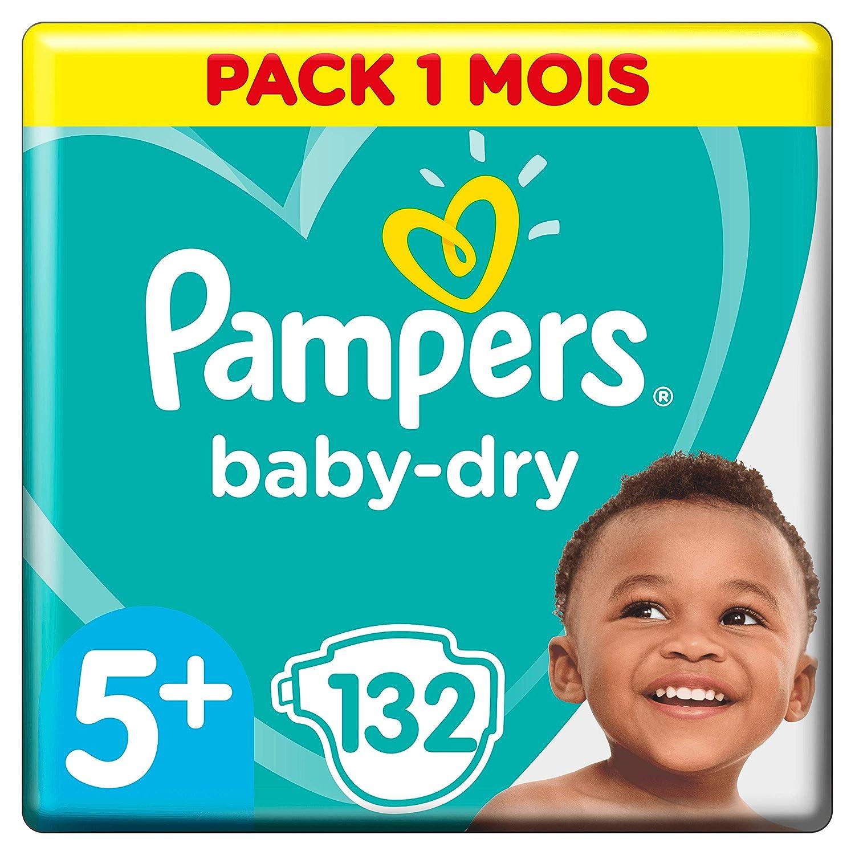 Pampers Baby Dry 124 unidades Talla 6 Pa/ñales para beb/és 15+kg