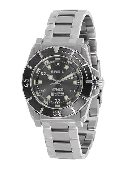Breil TW0734 - Reloj analógico de cuarzo para mujer con correa de acero inoxidable, color