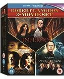 Inferno / Angels & Demons / The Da Vinci Code Box Set - [Blu-ray]