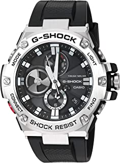 Casio Mens G-Shock Quartz Resin Dress Watch, Color:Black (