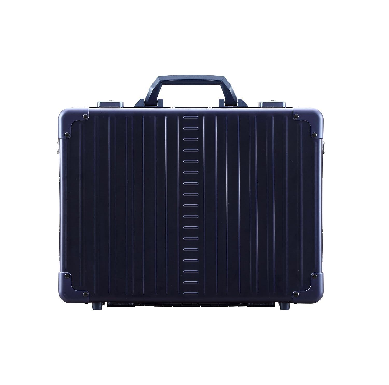 Aleon 17 Business Attache Aluminum Hardside Business Briefcase Sapphire Blue