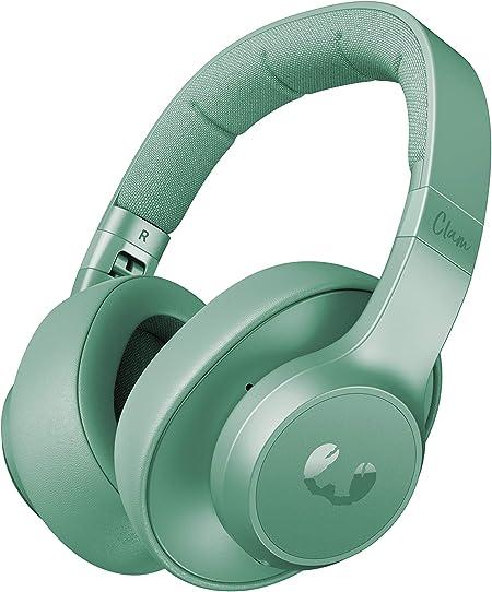 Auriculares Fresh n Rebel Clam ANC Misty Munt | Auriculares Bluetooth para colocar sobre las orejas con reducción activa del ruido: Amazon.es: Electrónica
