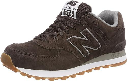 dedo índice Ocurrencia Imaginación  New Balance ML 574 FSB Schuhe brown - 47, 5: Amazon.co.uk: Shoes & Bags