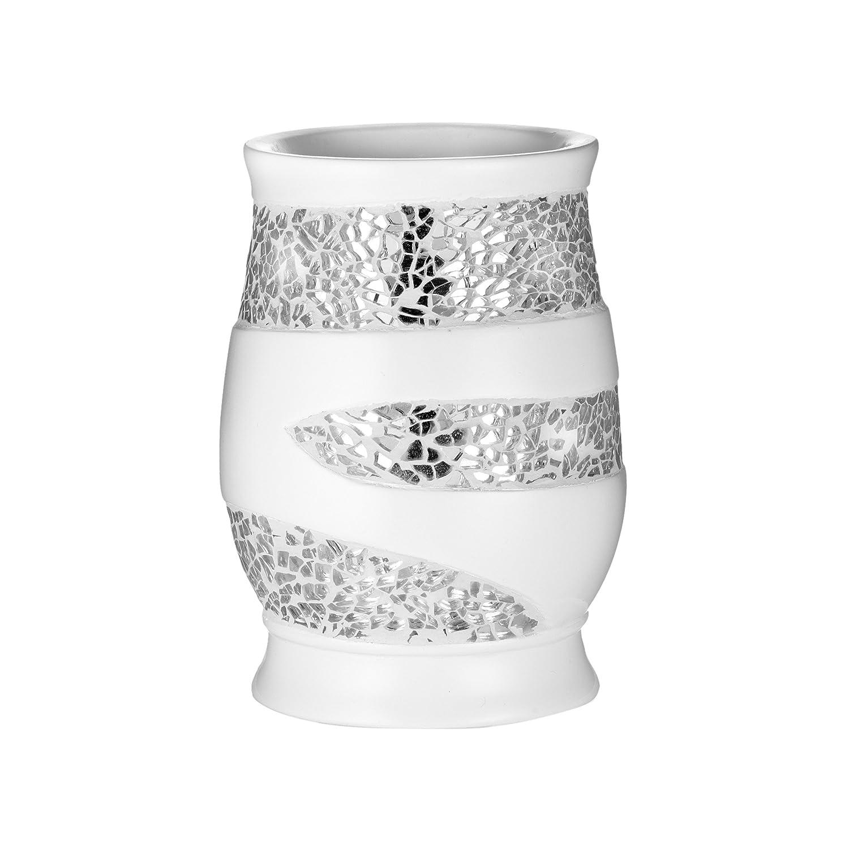 Popular Bath Tumbler, Sinatra Collection, White 838961