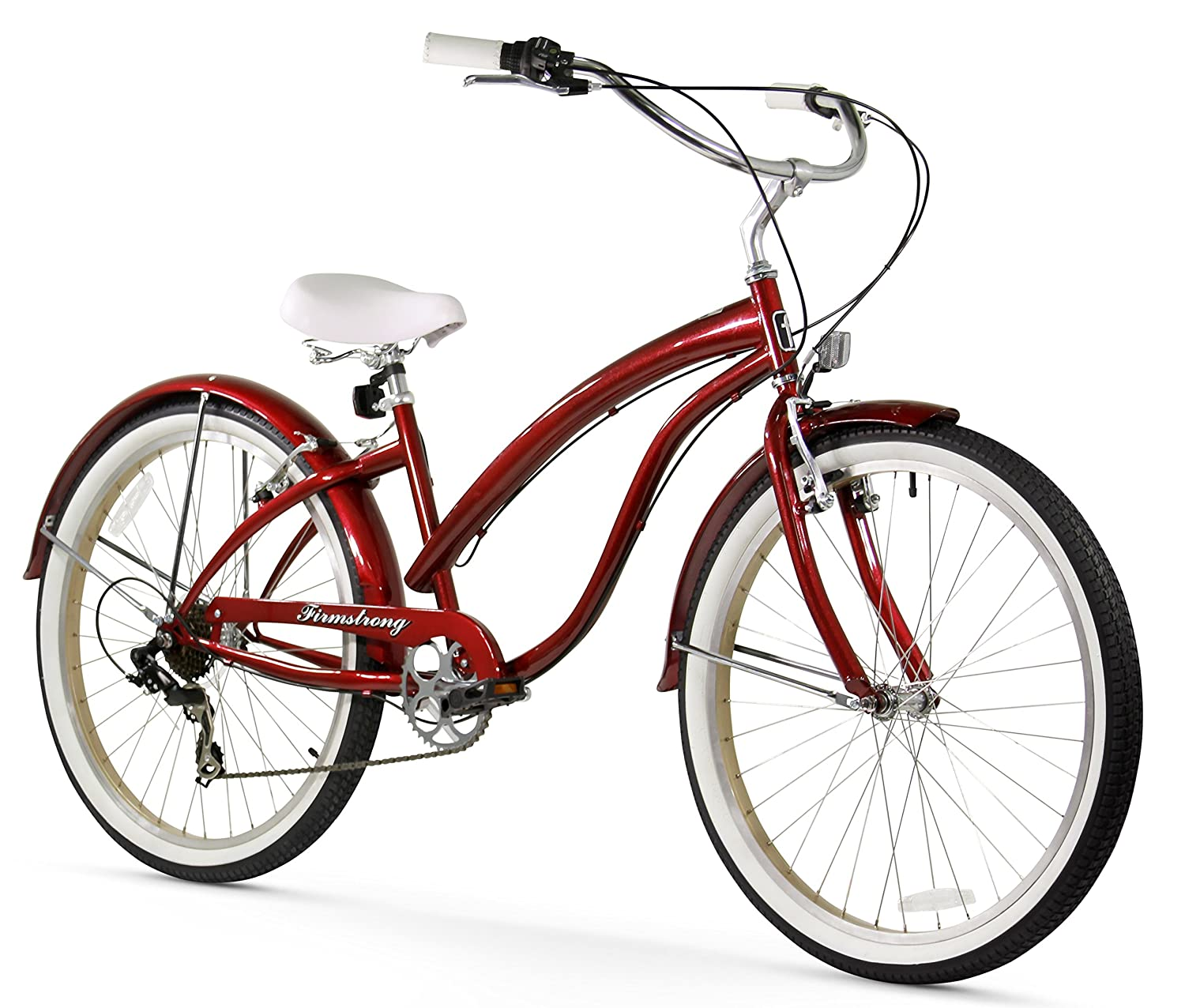 red beach cruiser