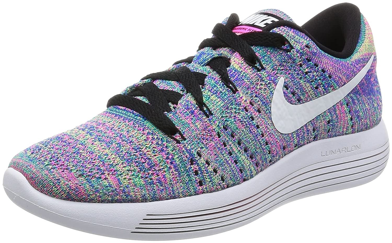 Nike 843765-004, Chaussures de Trail Femme Noir (Black/White-Racer Blue-Clear Jade) 38 EU