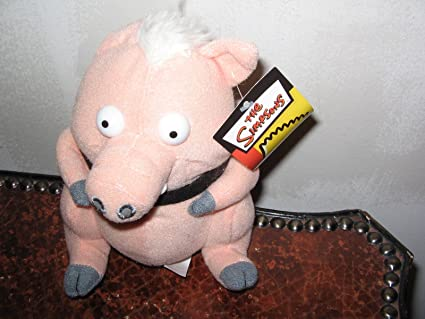 Amazon Com Spider Pig Character The Simpsons Plush Toys Games