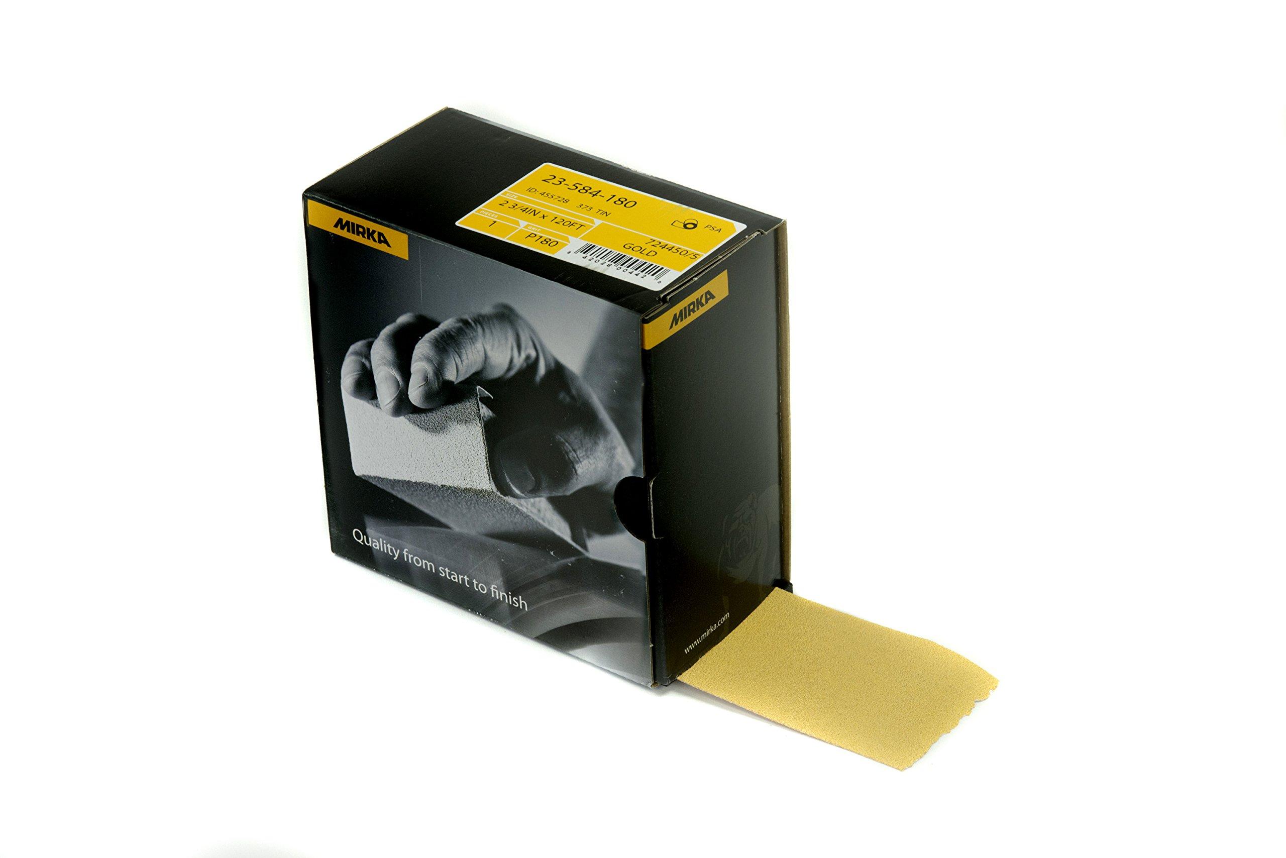 Mirka 23-584-180 Bulldog Gold PSA Autokut Roll