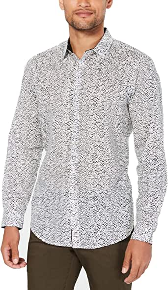 INC International Concepts Mens Animal Print Button Down Shirt: Amazon.es: Ropa y accesorios