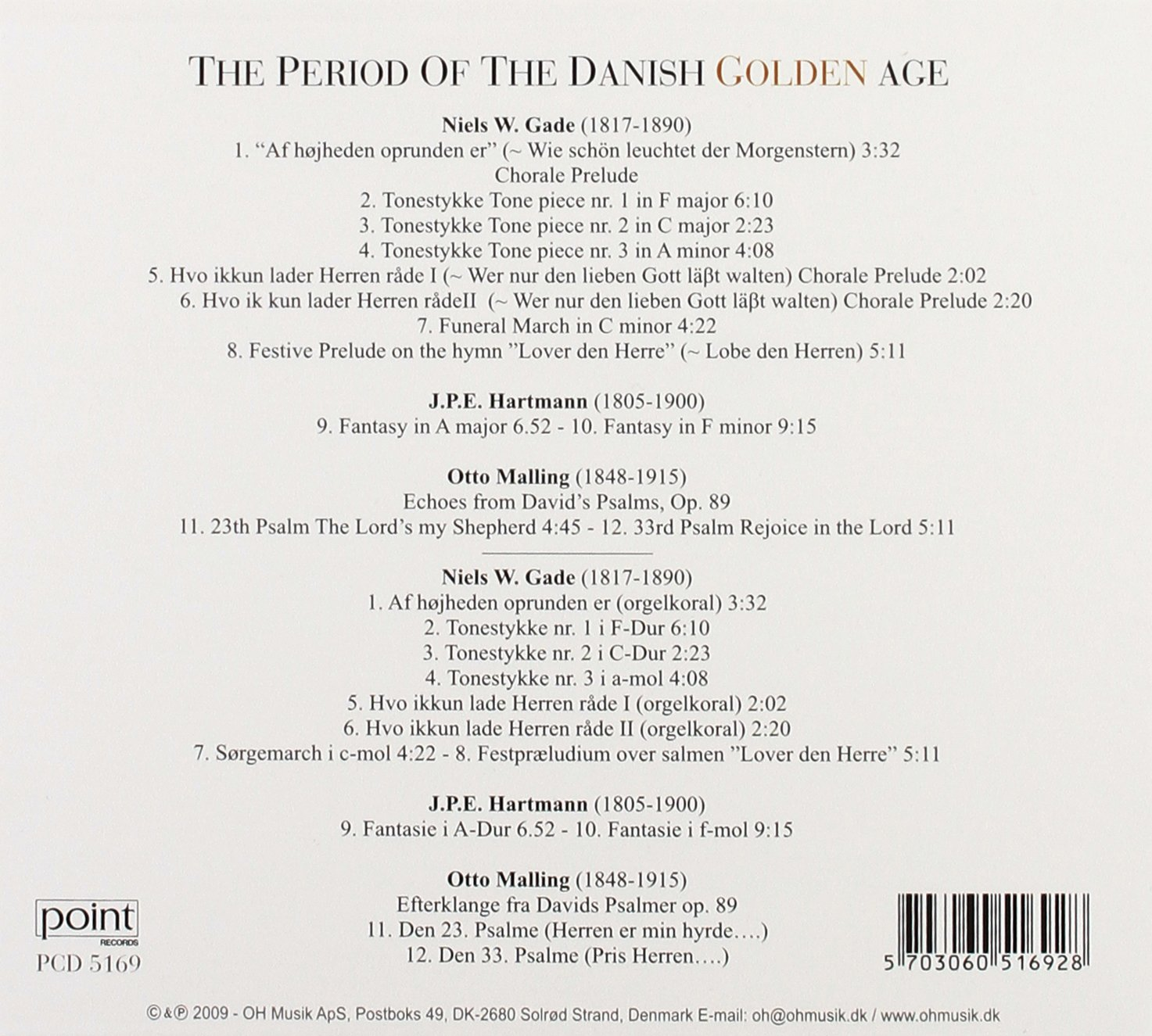 38ff3adc Buy Period of the Danish Golden Age Online at Low Prices in India | Amazon  Music Store - Amazon.in