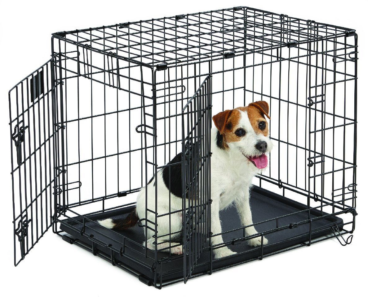 Amazon.com : Small Dog Crate | MidWest Life Stages 24"|1187|960|?|en|2|800d4e9b94d09c9c3c84bf621ee3c84f|False|UNLIKELY|0.34530481696128845