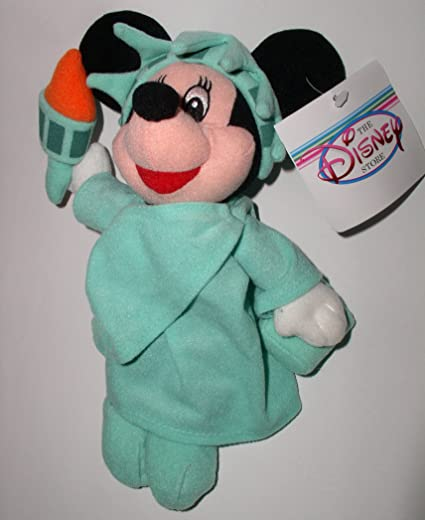 Disney Minnie Mouse as Lady Liberty - Mini Bean Bag