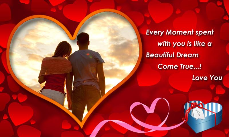 love photo frame download