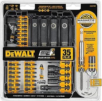 DeWalt DWA2T35IR 35-Piece Impact Ready Screwdriving Bit Set