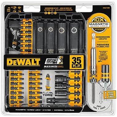 DEWALT DWA2T35IR 35 Piece IMPACT READY FlexTorq Screwdriving Bit Set