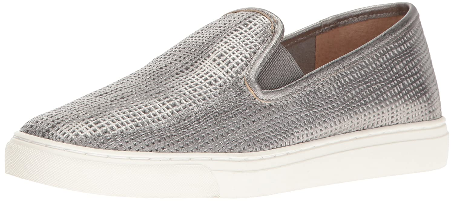 Vince Camuto Women's Becker Slip-on Sneaker B01M9JBVOI 6 B(M) US|Pewter