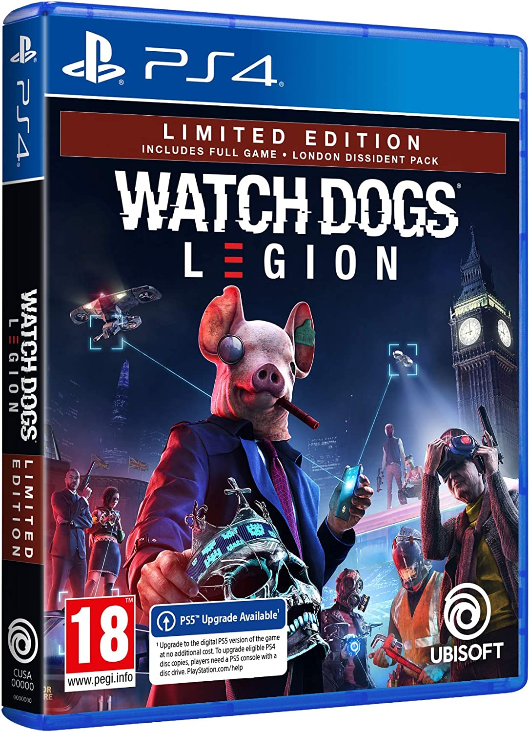 Watch Dogs Legion - Limited Edition (Exclusiva Amazon): Amazon.es: Videojuegos