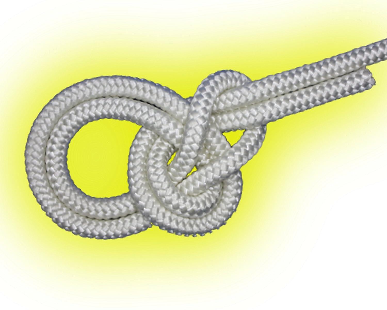 6mm weiß 50m-500m Flechtleine,Seil,Festmacher,Tauwerk,Reepschnur,Leine,Schnur