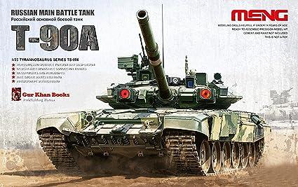 Meng 1 35 Ruso T 90a Tanque De Batalla Principal Miniatura Ejército Modelo Plástico Kit Ts 006 Toys Games