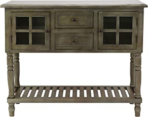 Decor Therapy Console Table, Size: 42w 14d 34.25, gray