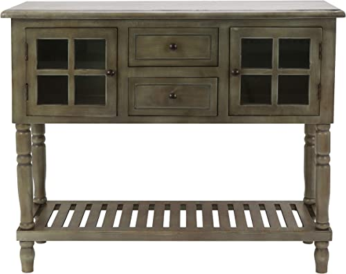 Decor Therapy Console Table, Size 42w 14d 34.25, gray