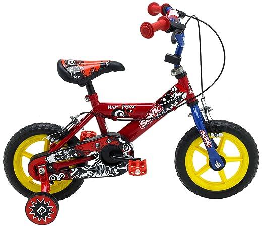 43 opinioni per Sonic Kap-Pow, Bici da bambino, 12-Inch, colore: Rosso/Blu