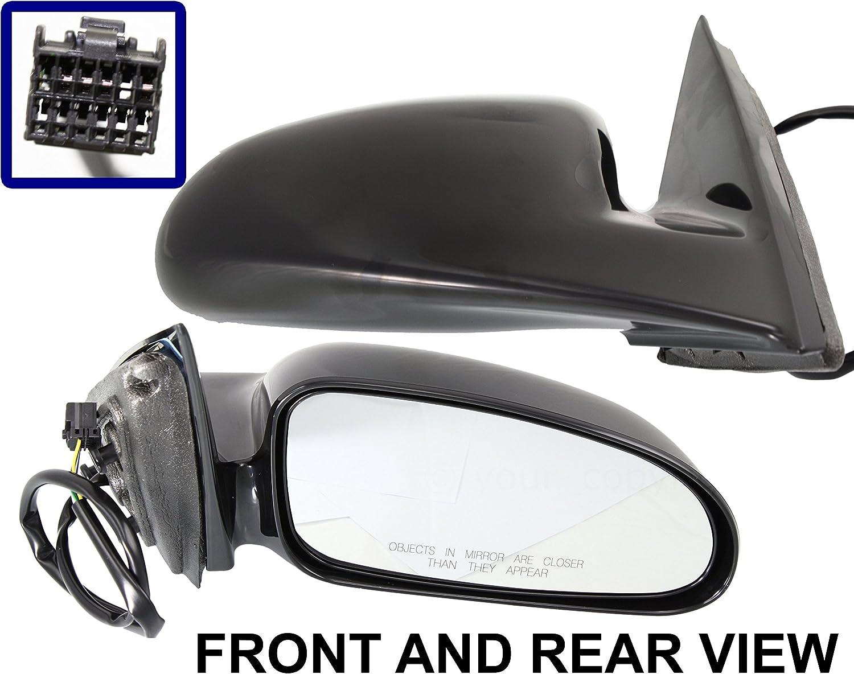 00-05 Bonneville Power Heated Non-Folding Rear View Mirror Right Passenger Side