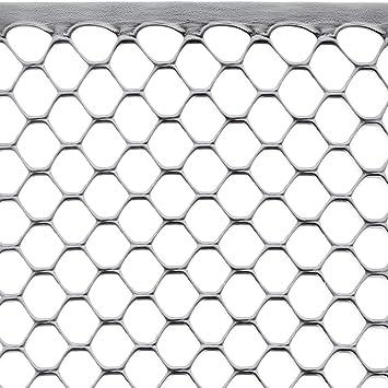 Rete X Recinzione.Rete Protettiva In Plastica Per Balconi Recinzioni E Cancellate Tenax Exagon 1 00 X 5 M Argento