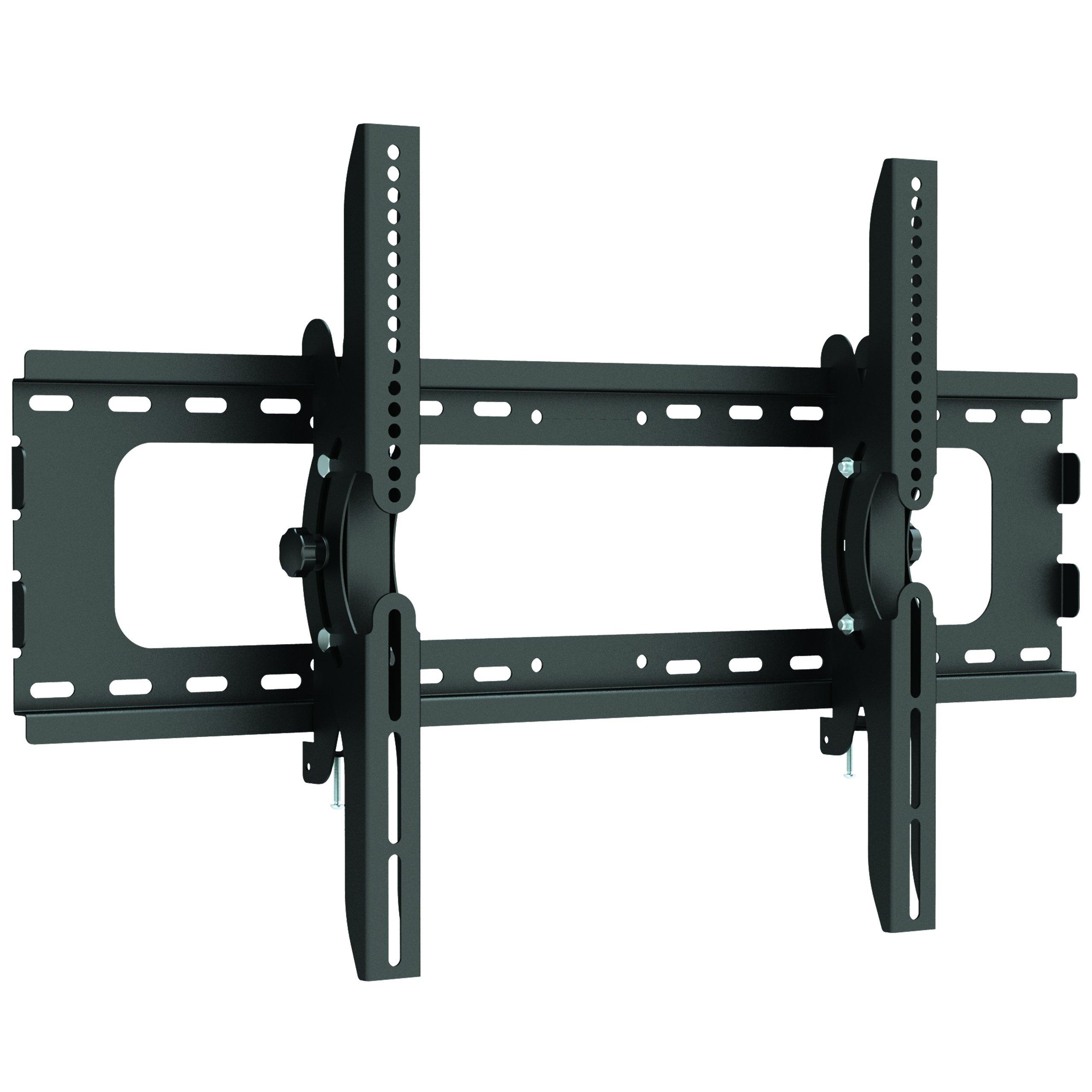 "StarTech.com Tilting TV Wall Mount - Heavy Duty Steel - Supports Monitors 32'' to 75""- TV Mount - VESA Wall Mount - Monitor Mount"