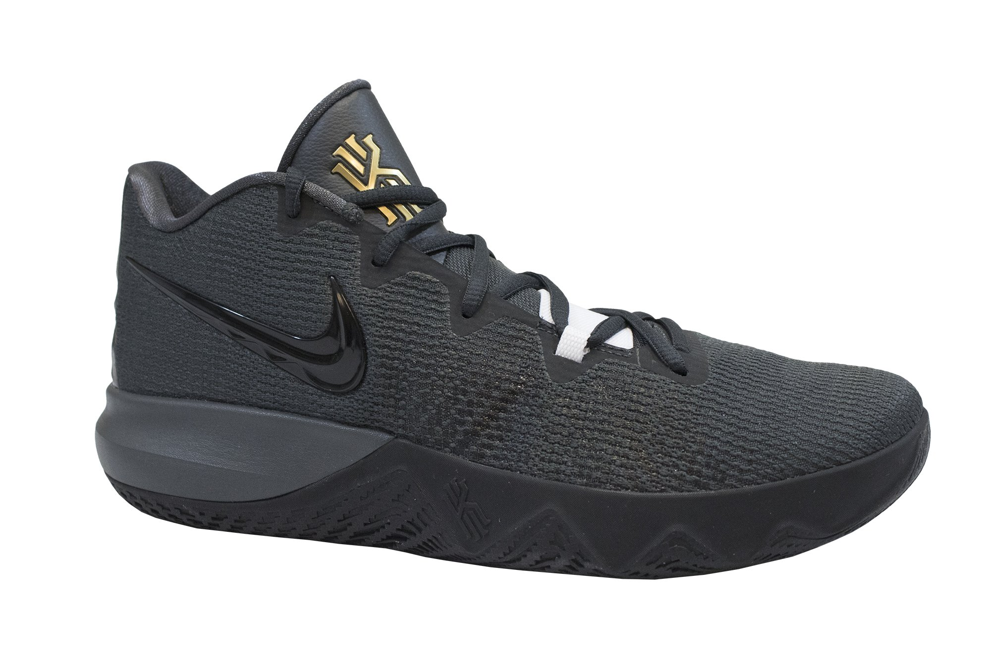 Nike Men's Kyrie Flytrap Anthracite/Black/Metallic Gold Size 8.5 M US