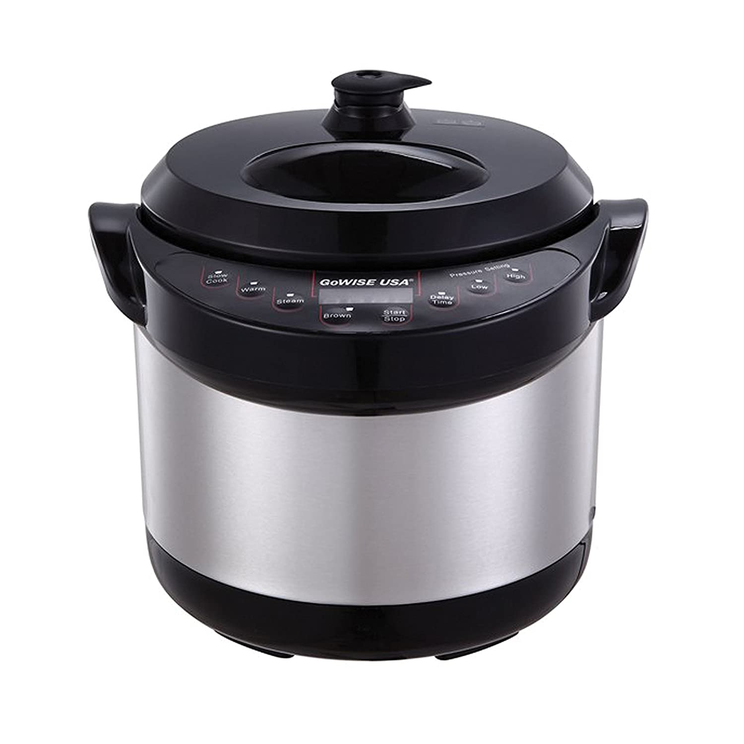 Kitchen small appliances usa - Amazon Com Gowise Usa 6 In 1 Electric Stainless Steel Pressure Cooker Slow Cooker 3 Qt Kitchen Dining