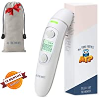 Baby Thermometer – FDA Approved Digital Infrared Temporal Thermometer for Fever by All Time Parents. Medical Ear and Forehead Thermometer for Toddlers and Adults