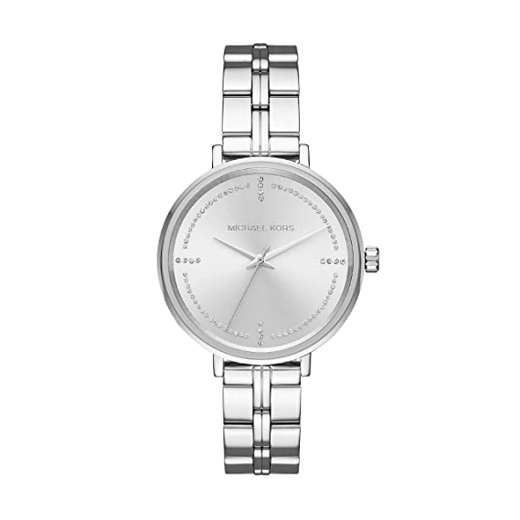 8dcf190959a Michael Kors Women s Analogue Quartz Watch with Stainless Steel Strap  MK3791  Amazon.co.uk  Watches