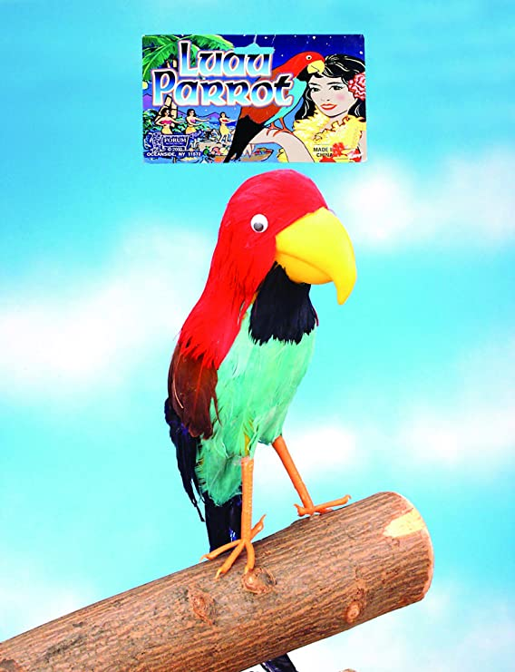 Shoulder Pirate 50cm Parrot Lifelike with Elastic Holder Costume Accessories
