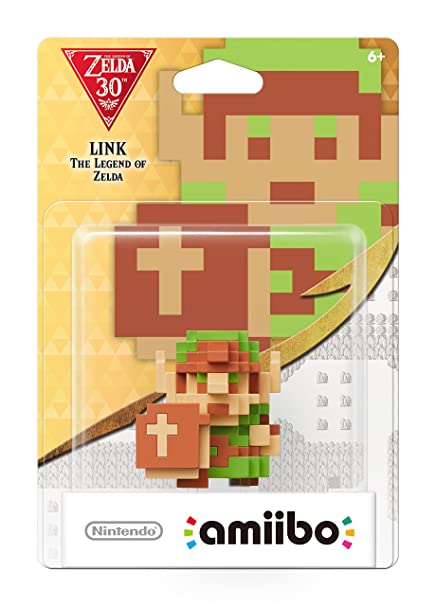Amazon com: Nintendo 8-Bit Link: The Legend of Zelda amiibo