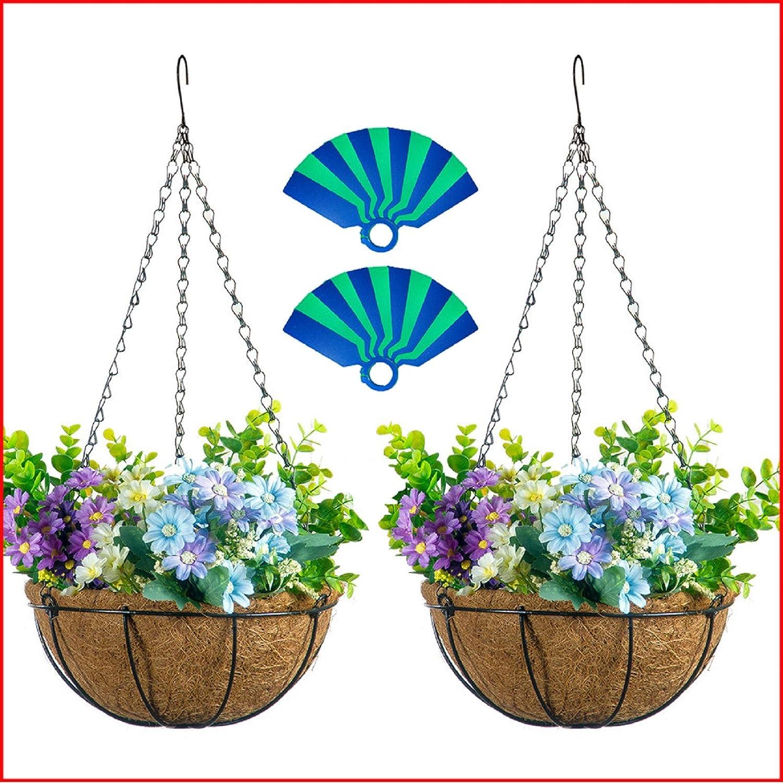 Coconut Flower Hanging Basket Pot Hooks Plant Planter Hangers Pots Holder