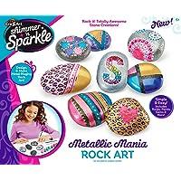 Cra-Z-Art Shimmer N Sparkle Metallic Mania Rock Art for Girls - 17696