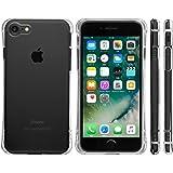 Highend berry iPhone8 iPhone7 ケース 耐衝撃 TPU ケース アイフォン7 アイフォン8 カバー Arc 落下防止 用 ストラップ ホール 付き 保護キャップ 一体型 ストラップ 付き クリア