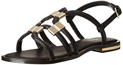 ALDO Women's Reinelle Strappy Sandal, Black, ...