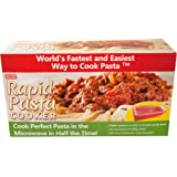 Rapid Pasta Cooker – Cook Perfect Pasta in the Microwave in Half the Time!