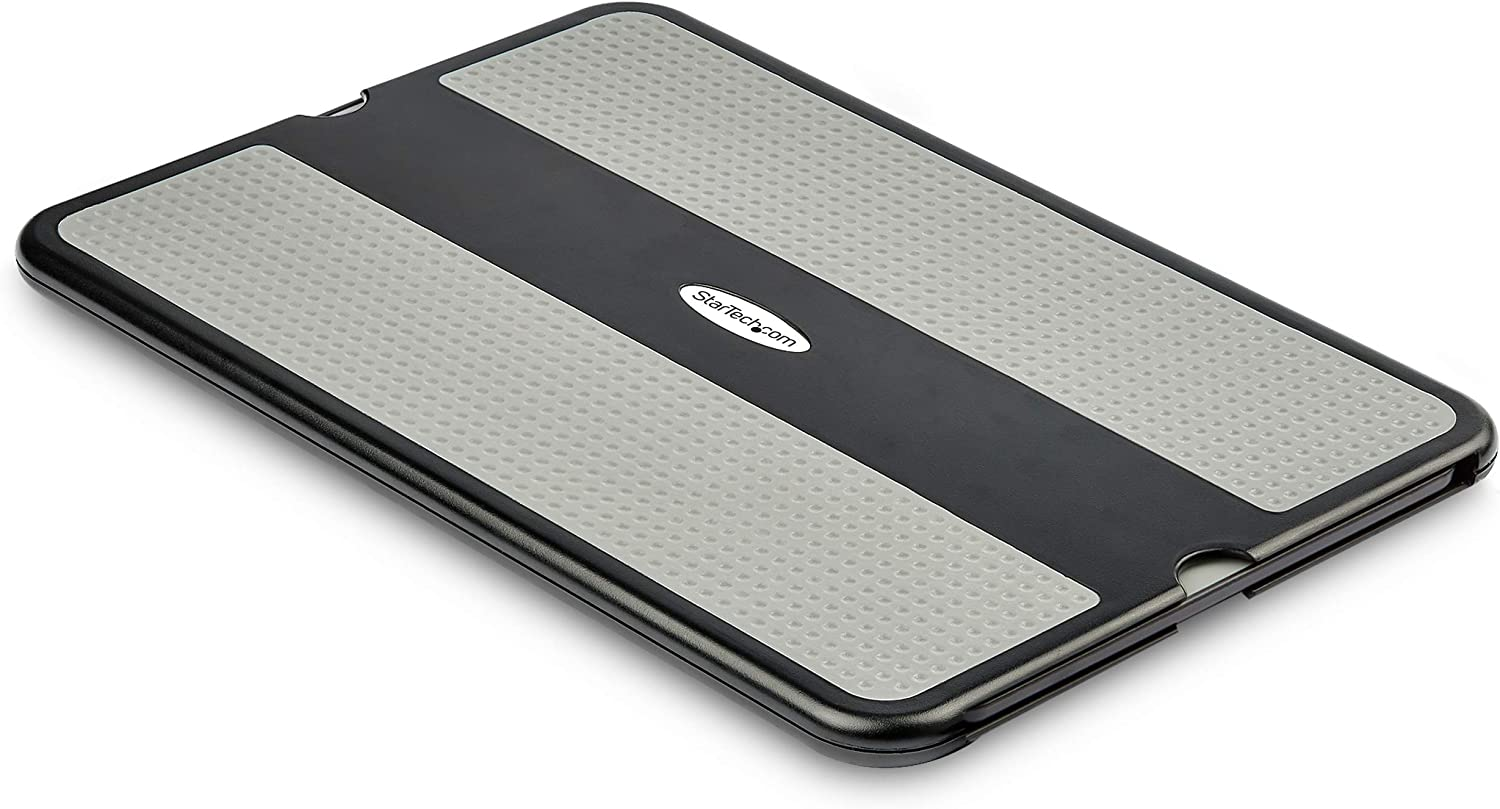 "StarTech.com Lap Desk - for 13"" / 15"" Laptops - Portable Notebook Lap Pad - Retractable Mouse Pad - Anti-Slip Heat-Guard Surface (NTBKPAD)"