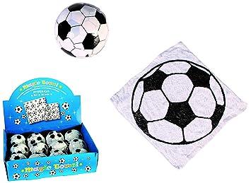 MC Trend Toalla mágica con diseño de fútbol, manopla de baño ...