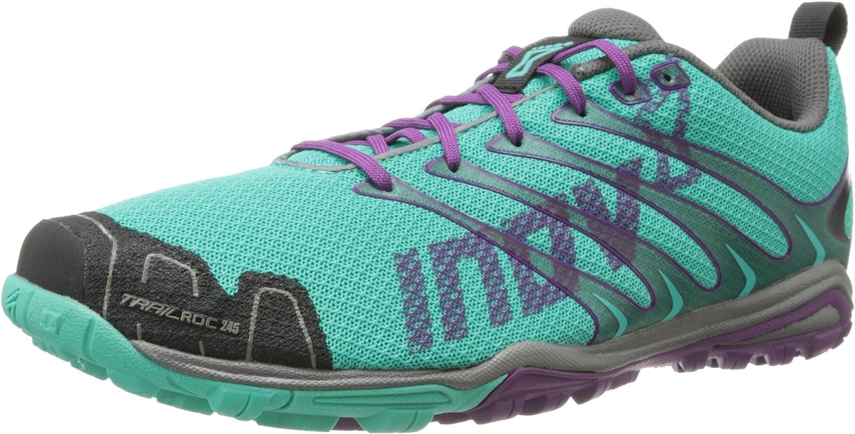 Inov-8 Trail Roc 245 Womens Zapatilla De Correr Para Tierra (Standard Fit) - 45.5: Amazon.es: Zapatos y complementos