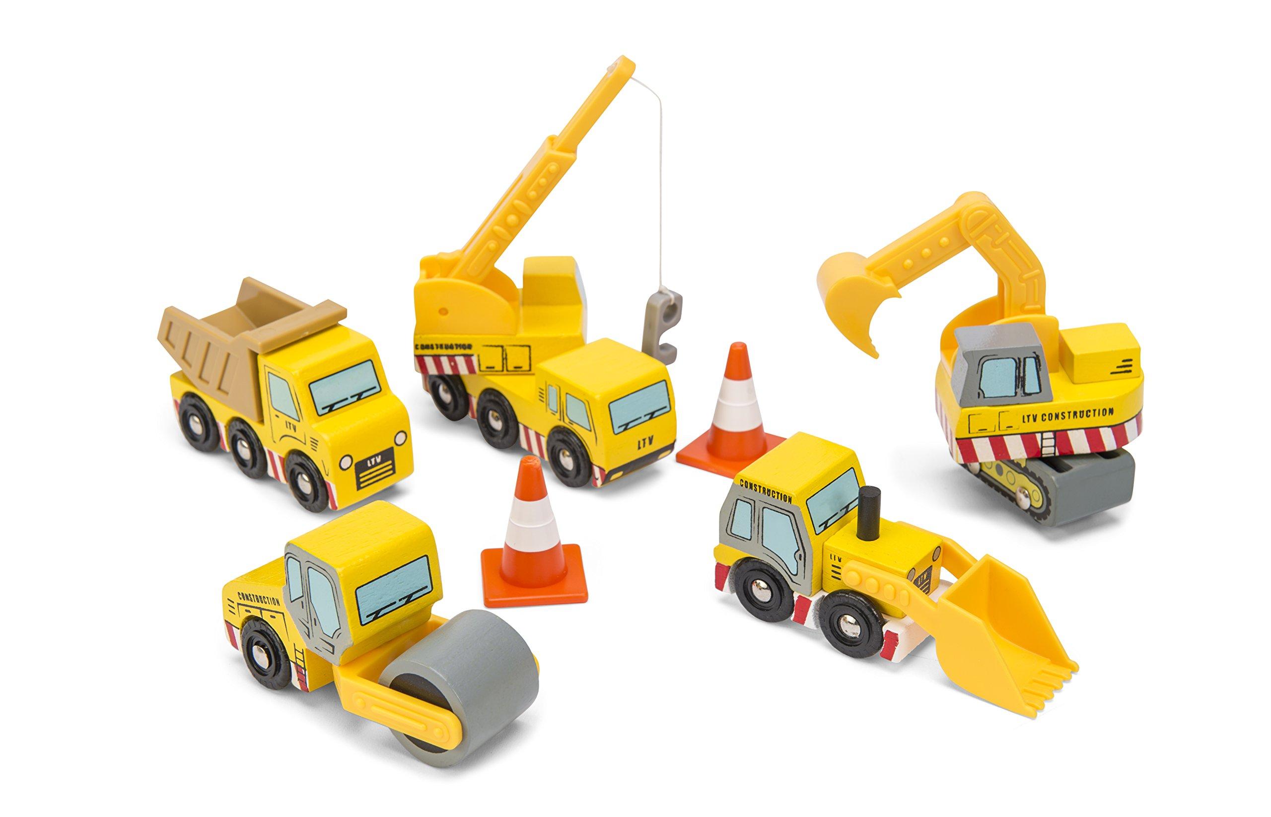 Le Toy Van TV442 Construction Set - 81LDDKdYOYL - Le Toy Van TV442 Construction Set