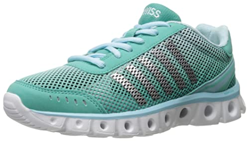K-SwissX Lite Athletic Cmf - Scarpe Sportive Outdoor Donna, Turchese (Turquoise (Turquoise/Clearwater 465)), 38