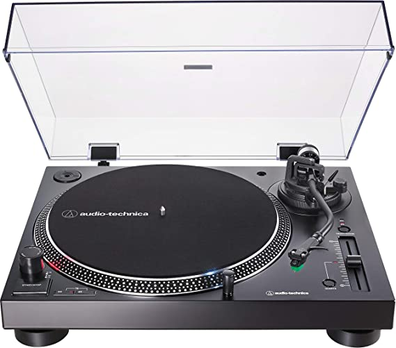 Audio-Technica AT-LP120XUSB-BK Direct-Drive Turntable (Analog & USB)