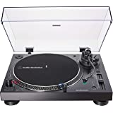 Audio-Technica AT-LP120XUSB-BK Direct-Drive Turntable (Analog & USB), Fully Manual, Hi-Fi, 3 Speed, Convert Vinyl to…