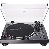 Audio-Technica AT-LP120XUSB-BK Direct-Drive Turntable (Analog & USB), Fully Manual, Hi-Fi, 3 Speed, Convert Vinyl to Digital,