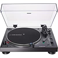 Audio-Technica AT-LP120XUSB draaitafel met directe aandrijving incl. Pickup AT-VM95E & Headshell at-HS6 zwart