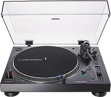 Audio-Technica AT-LP120XUSB - Tocadiscos con accionamiento Directo, Incluye Pastilla AT-VM95E y headshell at-HS6, Color Negro